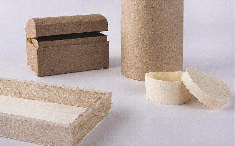 Holz Box Rund FSC 100/% 9,5cm ø 7cm mit Metallverschluss