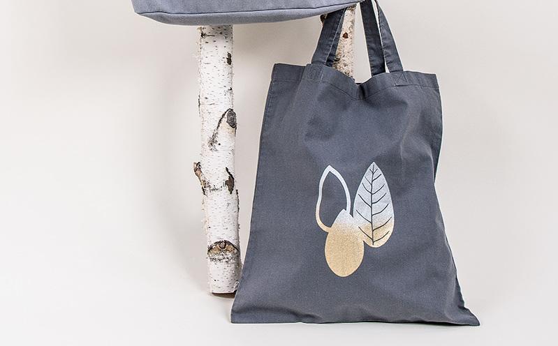 CANVAS - Baumwolltasche Blätter