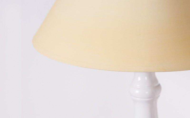 Gelber Lampenschirm