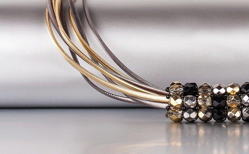 Goldfarbene Metallic-Kette