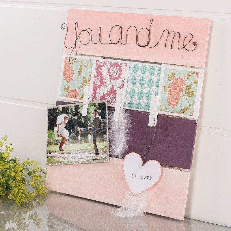 Wooden Bar Frames You And Me Craft Idea Rayher