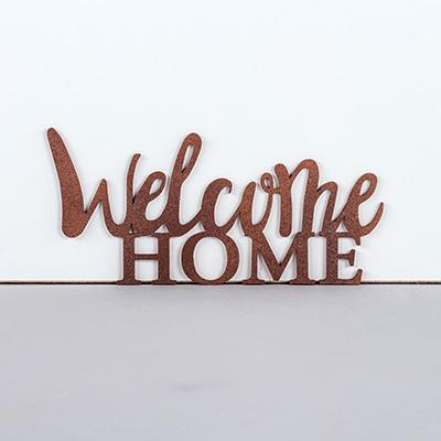 Ecritures En Bois Welcome Home