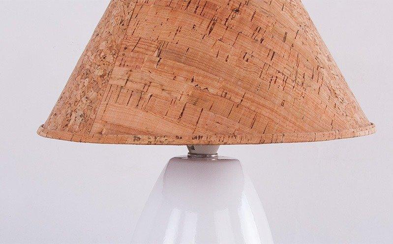 Kork-Lampe