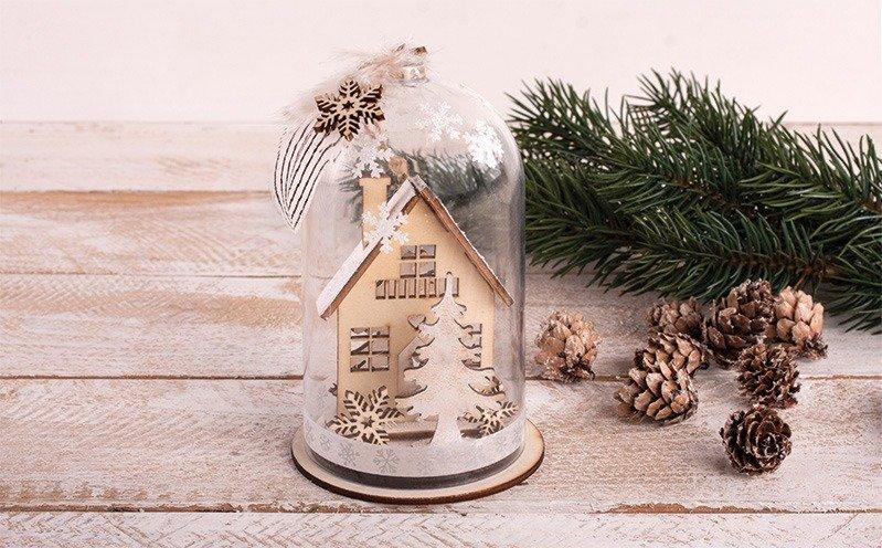 Kunststoffhaube Winterhaus