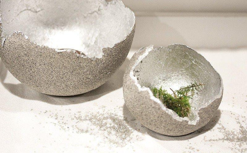 Modellierte Granoplast-Schale