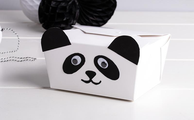 Panda-Geschenk-Box