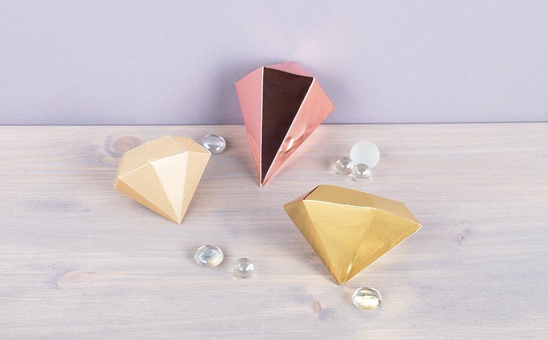 Papier-Diamanten