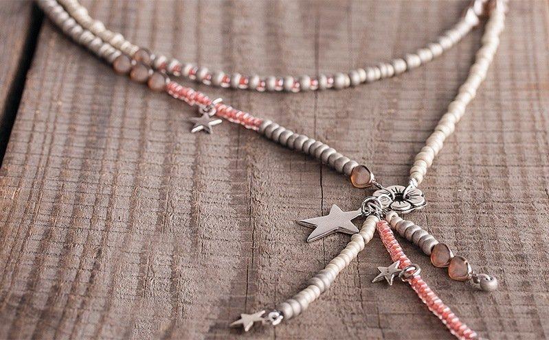 Perlenkette Summer Star