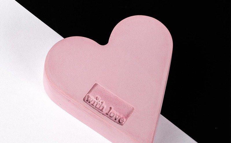 Raysin Herz rosa