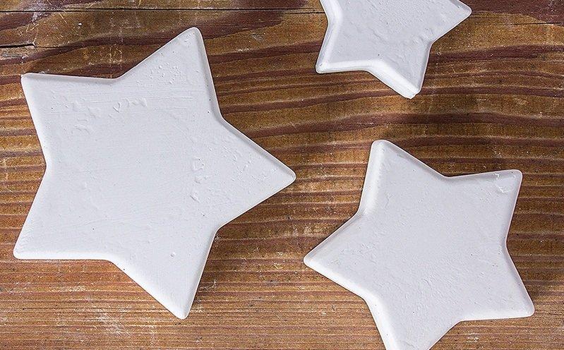 Raysin-Sterne in 4 Größen
