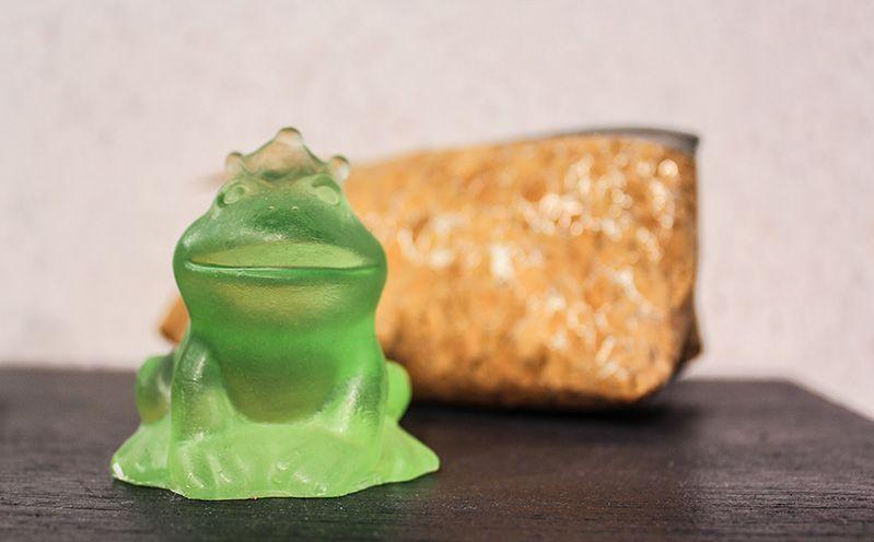 Seifenfrosch