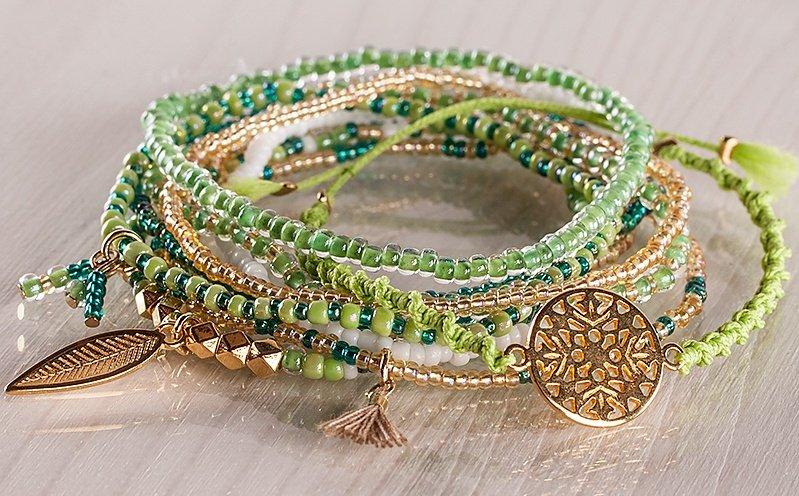 Tropisches Armband