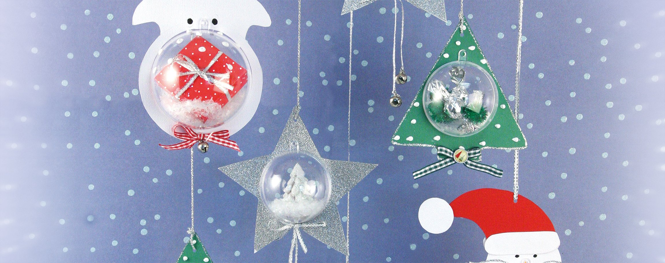 Boule Plastique A Decorer boules en plastique avec décoration pour noël 6 cm – idée d
