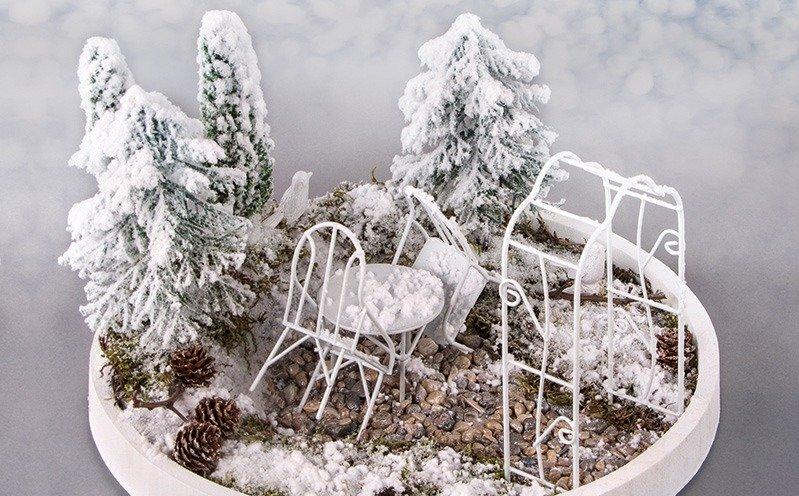 Winter Minigarten
